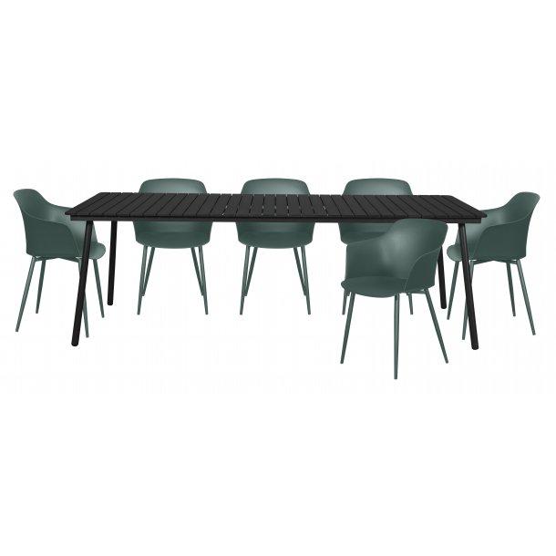 Gell Gartenmobel Set 1 Tisch Und 6 Stuhle Bestellen Sie Hier