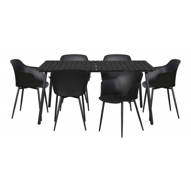 Dris havemøbelsæt 1 bord og 6 stole.