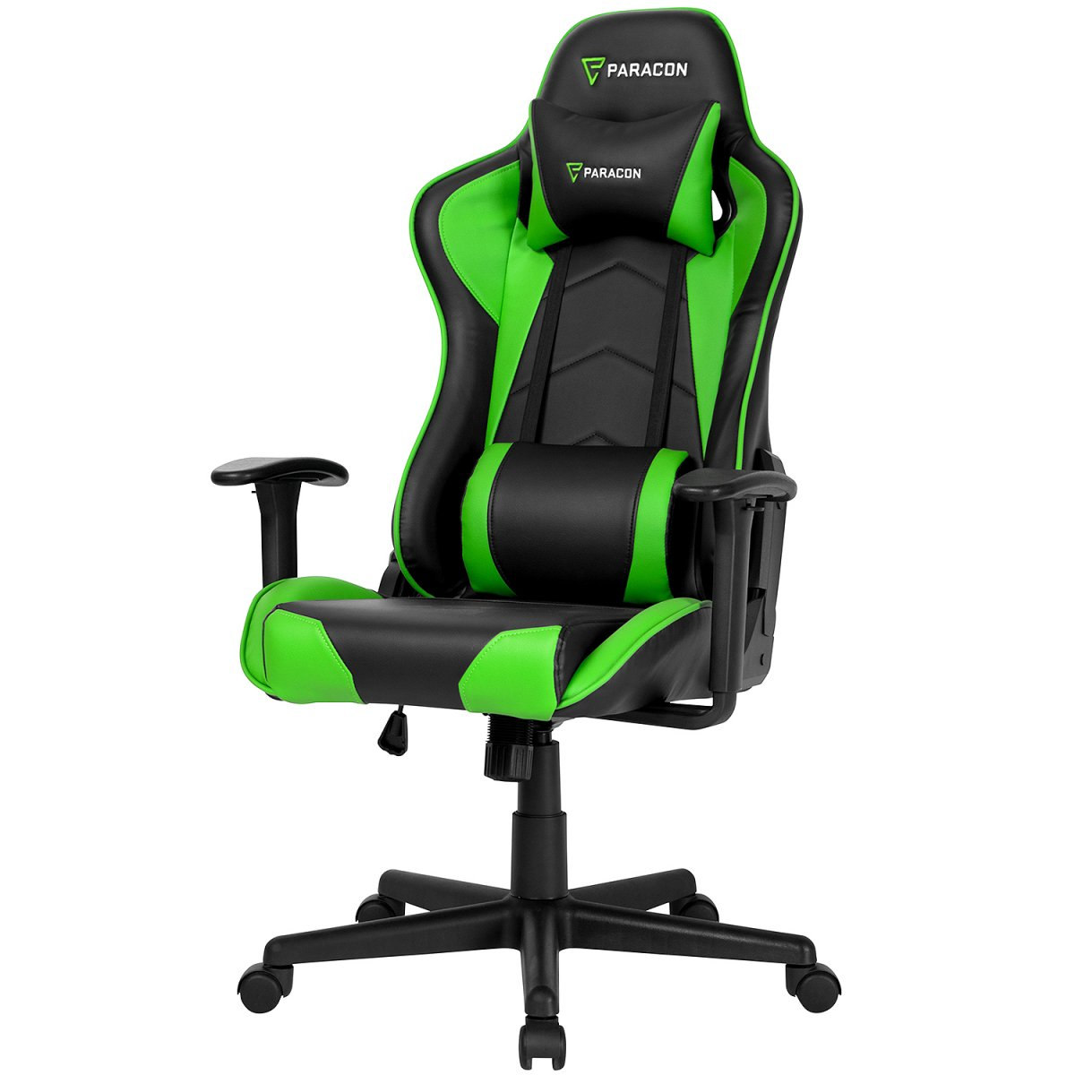 Paracon Brawler gamer stol grønn. Kjøp nå og få levert på døren.
