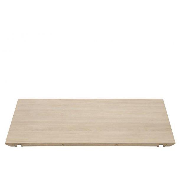 Cent tillægsplader 2 X 50 cm til Cent spisebord hvidpigmenteret olie.