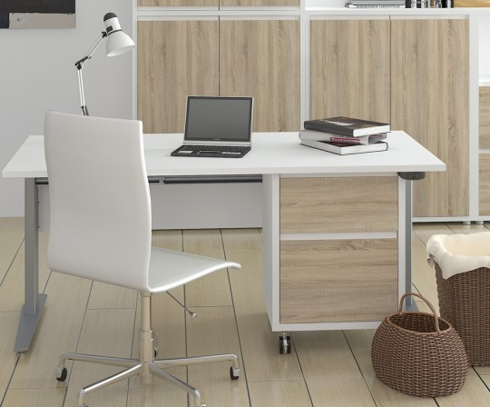 schreibtisch h henverstellbar bestellen sie online. Black Bedroom Furniture Sets. Home Design Ideas