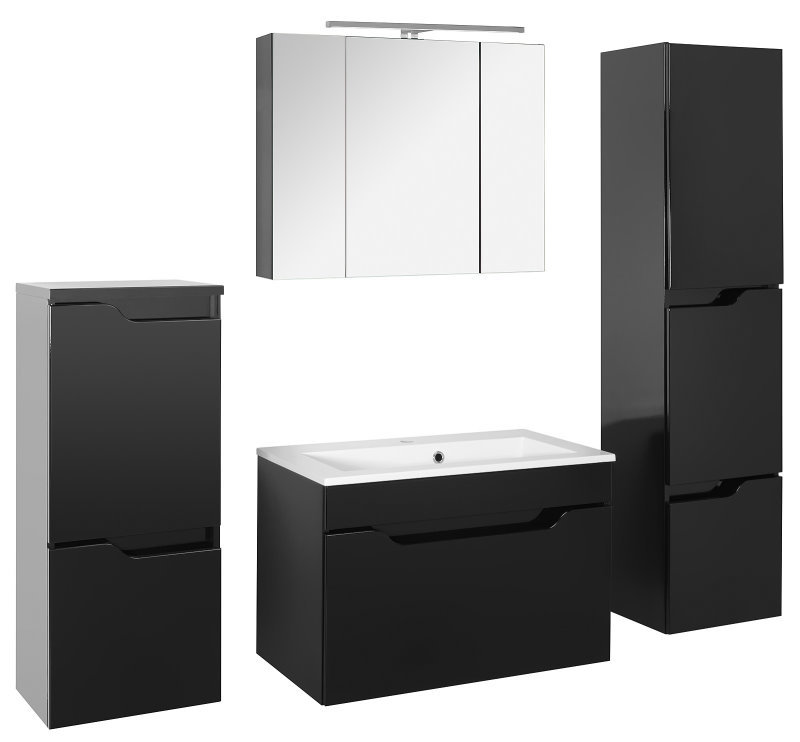 lili hochglanz schwarz. Black Bedroom Furniture Sets. Home Design Ideas