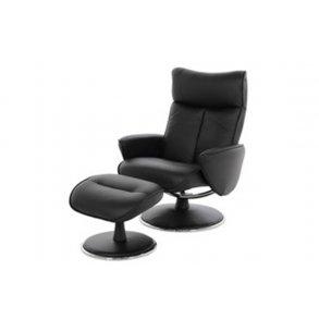 Læderstol