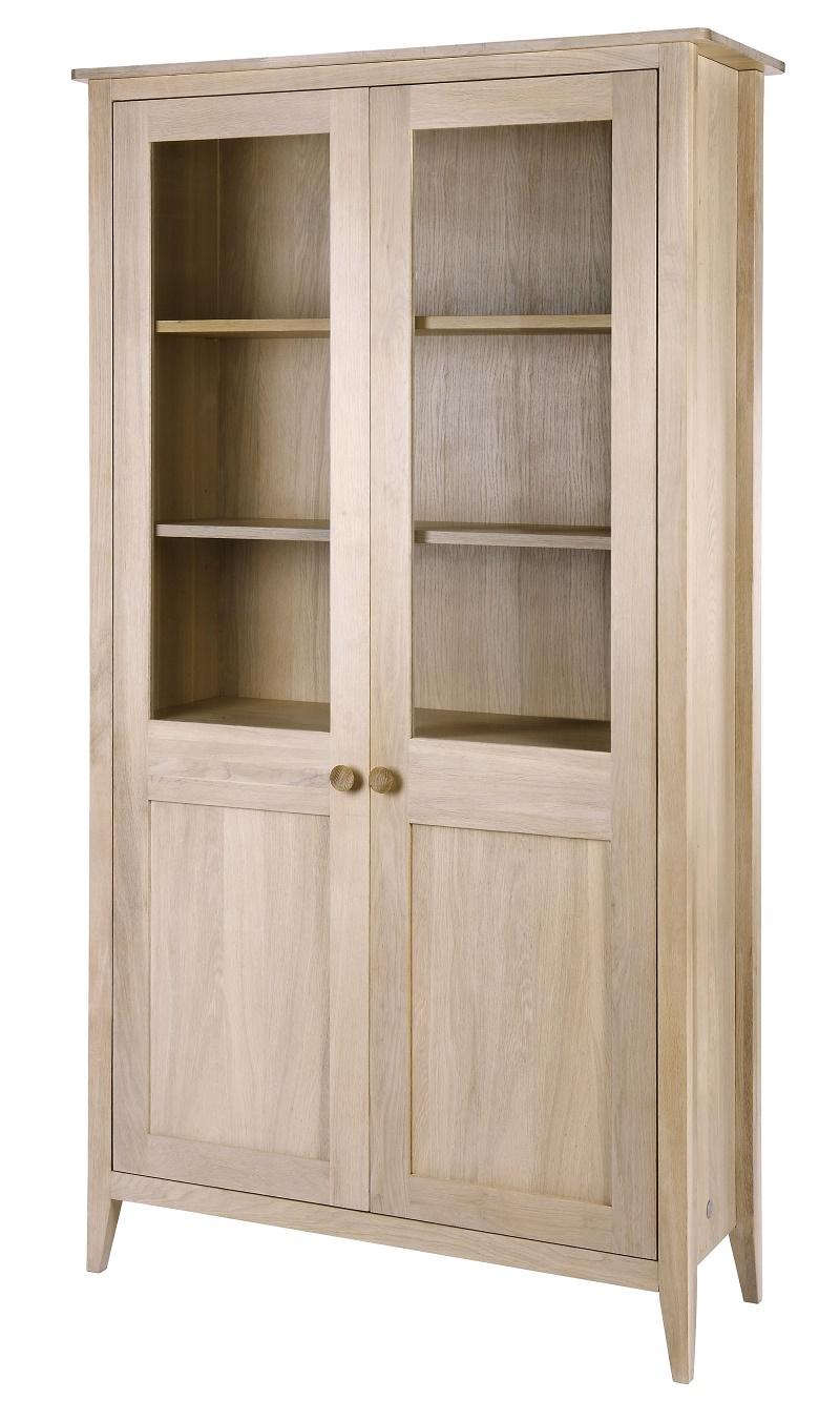 vitrinenschrank eiche online bestellen. Black Bedroom Furniture Sets. Home Design Ideas