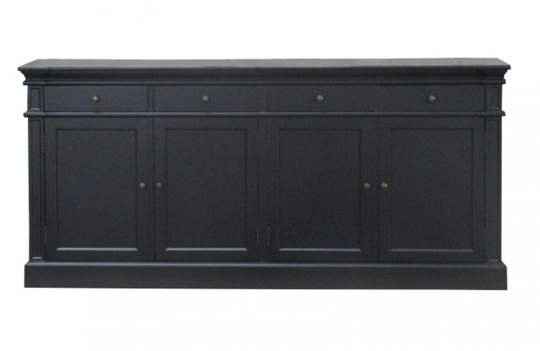 schwarze sideboards. Black Bedroom Furniture Sets. Home Design Ideas