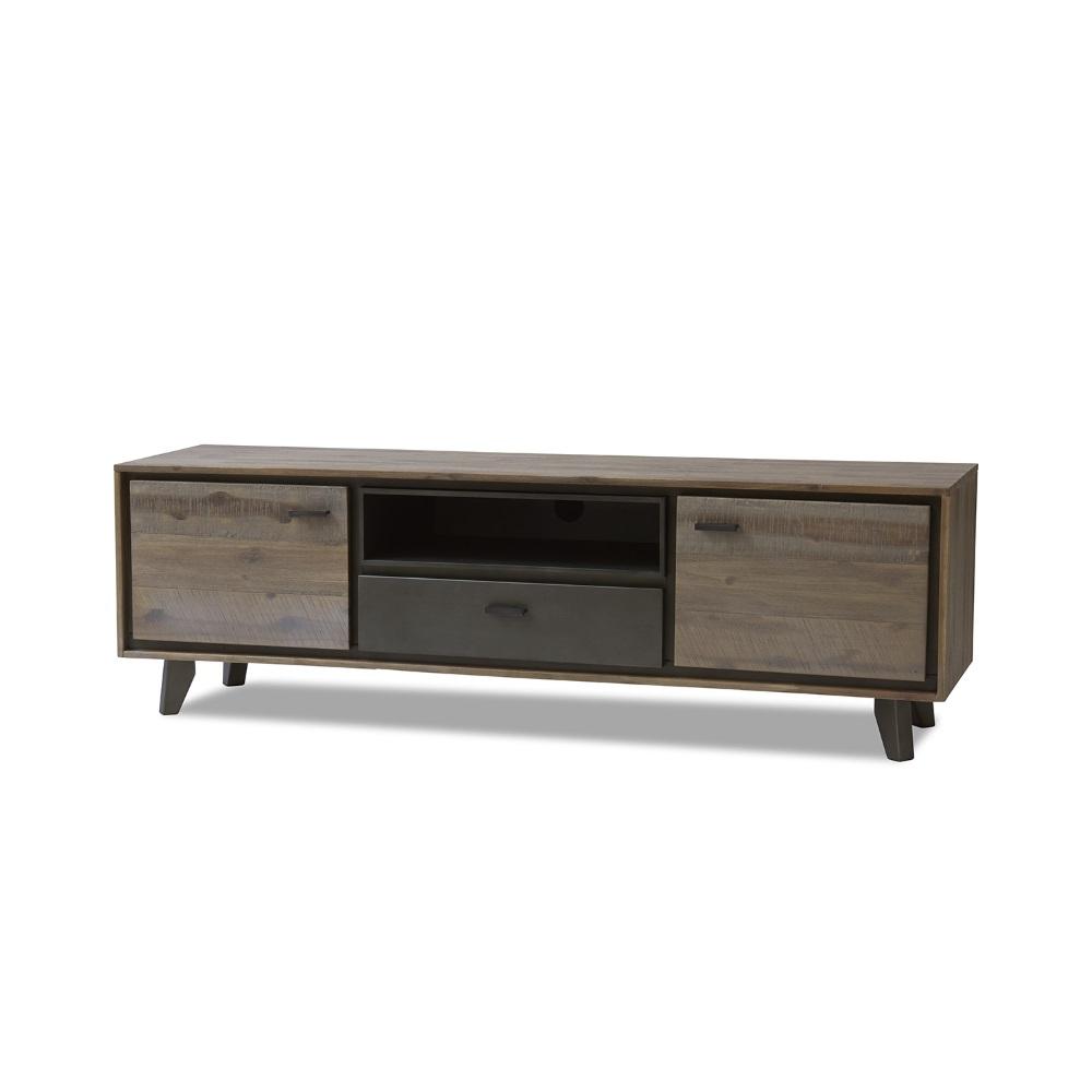 Hypermoderne TV bord akacietræ   Stort udvalg af lækre tv-borde i høj kvalitet ➔ TD-96