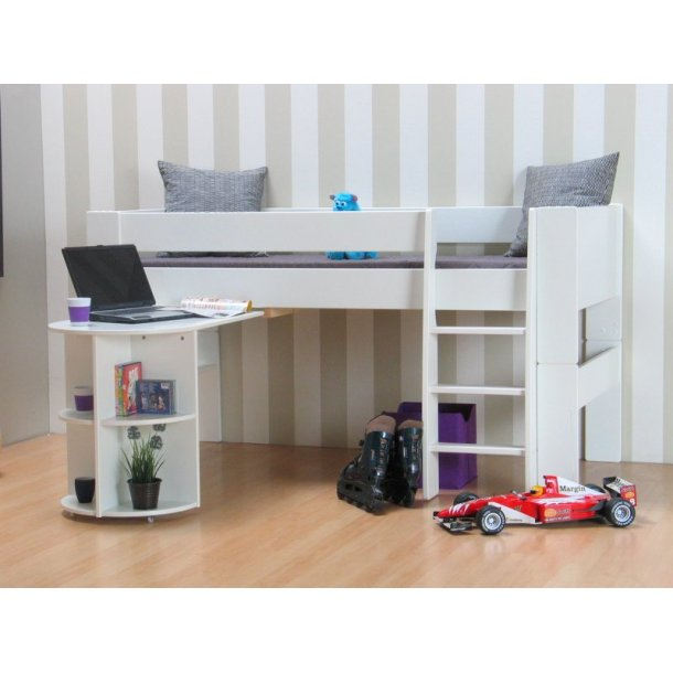 molly kids halbhohes bett 90x200 cm inkl lattenrost kaufen sie jetzt. Black Bedroom Furniture Sets. Home Design Ideas