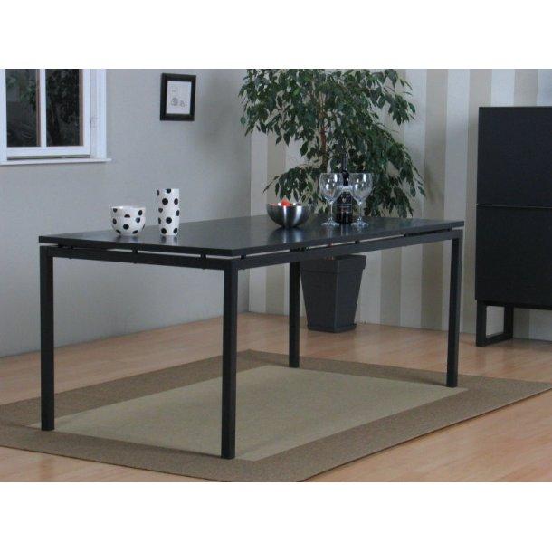 Peak spisebord 90 x 180 cm i mat grå.