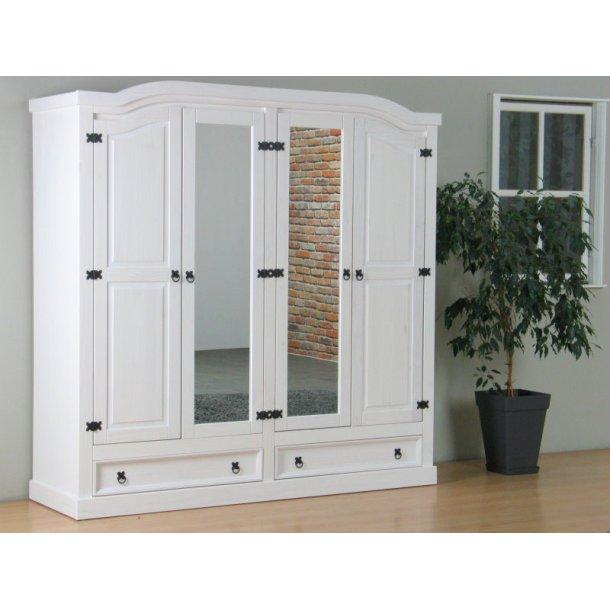 new mexico kleiderschrank 4 t rig mit 2 spiegelt ren bestellen sie hier. Black Bedroom Furniture Sets. Home Design Ideas