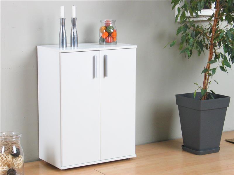 ulm schrank mit 2 t ren in wei bestellen sie hier. Black Bedroom Furniture Sets. Home Design Ideas
