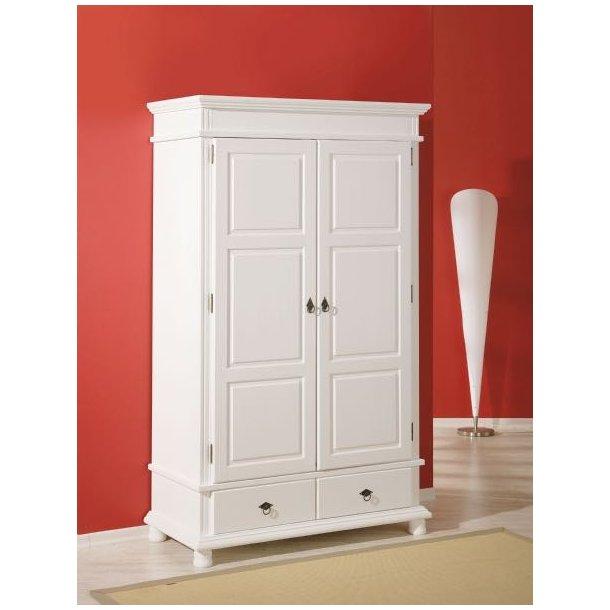 kleiderschrank danz 2 trg mit schubladen wei schnelle lieferung lieferzeit 1 2 dages werktage. Black Bedroom Furniture Sets. Home Design Ideas