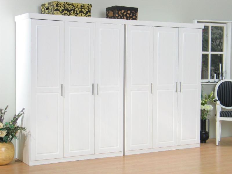 magnus kleiderschrank 6 trg wei breite 280 cm h he 190. Black Bedroom Furniture Sets. Home Design Ideas