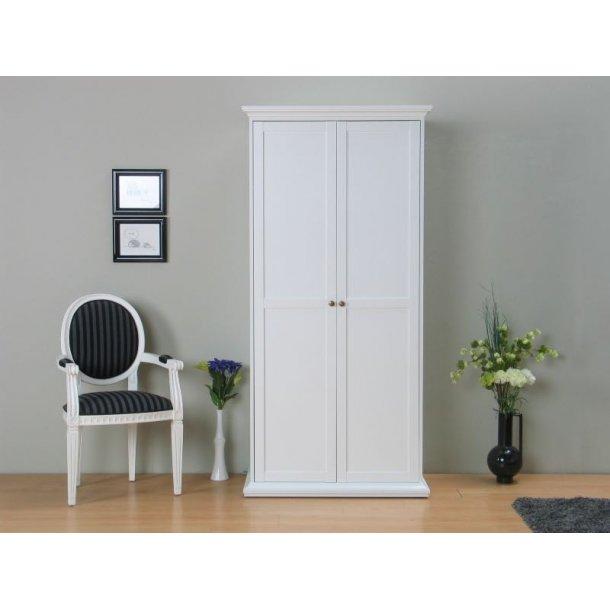 venedig kleiderschrank 2 trg weiss kaufen sie hier. Black Bedroom Furniture Sets. Home Design Ideas