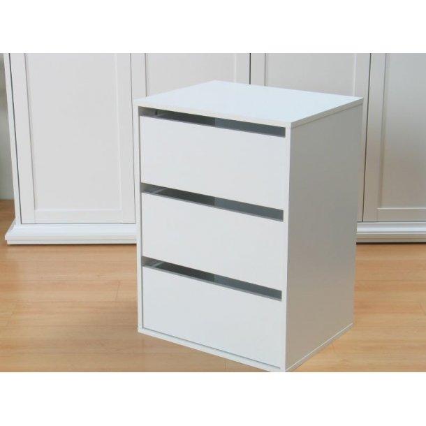 schubladen element f r kleiderschr nke und schiebet renschr nke weiss bestellen sie jetzt. Black Bedroom Furniture Sets. Home Design Ideas