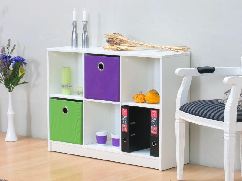 marianne regal 6 breite 105 cm h he 77 cm wei kaufen. Black Bedroom Furniture Sets. Home Design Ideas