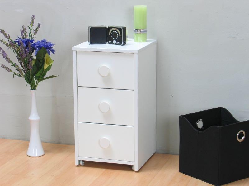 marianne rollcontainer auf r dern breite 37 cm h he 67 cm. Black Bedroom Furniture Sets. Home Design Ideas