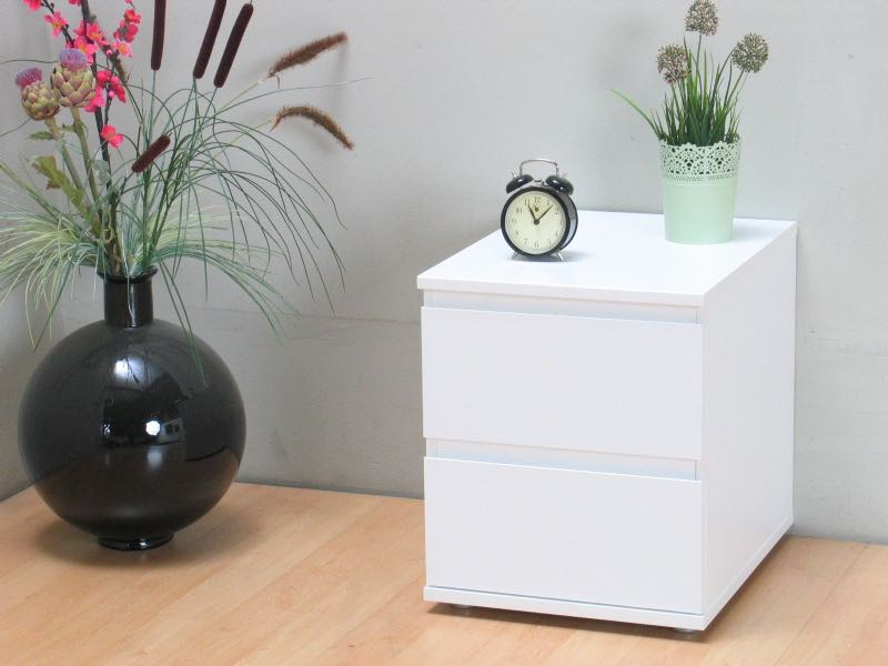 mia nachttisch weiss bestellen sie hier. Black Bedroom Furniture Sets. Home Design Ideas