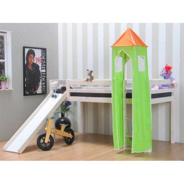 Thuka Kids tårn grøn/orange. Passer til Kids halvhøj seng.