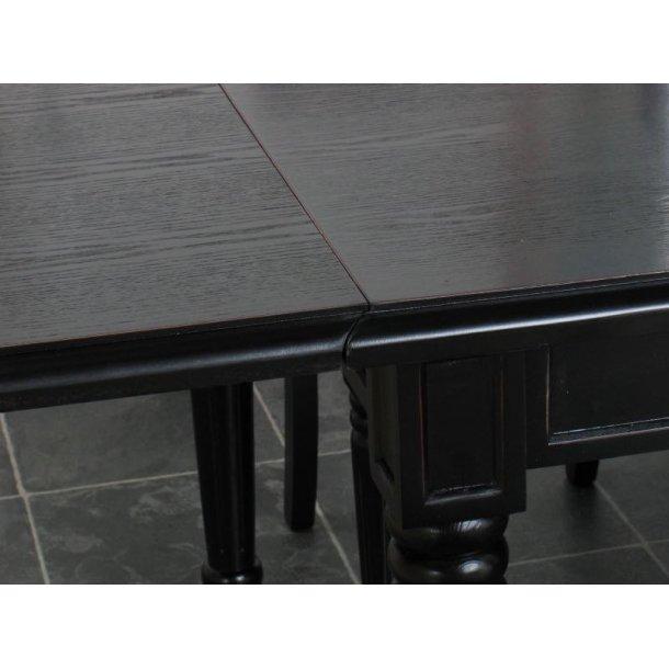 Amaretta tilleggsplate 50x100 cm antikk svart.