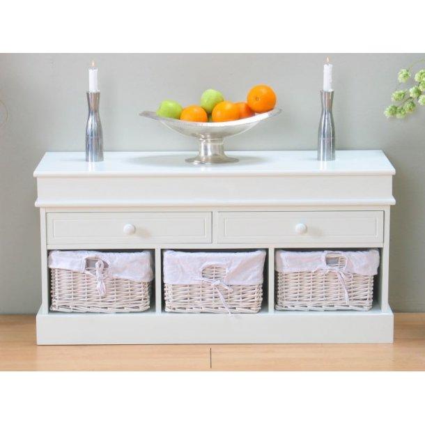 sitzbank emma mit schubladen und k rben wei schnelle lieferung lieferzeit 1 2 werktage. Black Bedroom Furniture Sets. Home Design Ideas