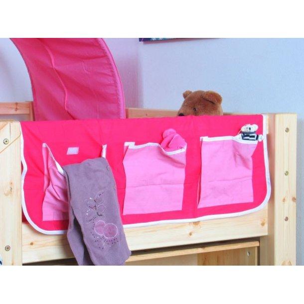 Thuka stofflommer pink/rosa.